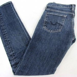 7 for all mankind Roxanne Skinny Jeans 26